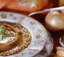 Rozgrzewająca zupa krem z dyni z marchewką i imbirem