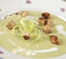 Rozgrzewająca zupa warzywna z pora i kapusty