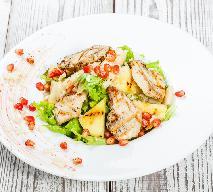 Sałatka z kurczakiem i melonem: przepis