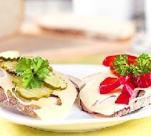 Kanapki z warzywami konserwowymi