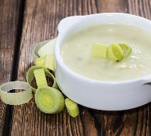 Kremowa zupa z pora - prosty przepis