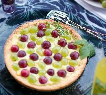 Tarta winogronowa - przepis na pyszne ciasto