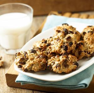 Ciastka owsiane bez cukru i mąki: przepis