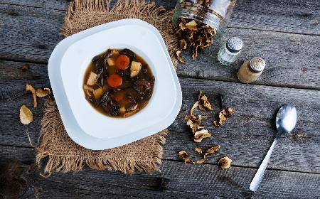 Wigilijna zupa grzybowa - tradycyjny przepis