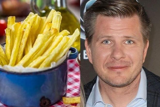 Filip Chajzer na wege diecie wcina najlepsze ziemniaki świata: zobacz przepis na domowe frytki