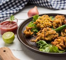 Najlepsze przekąski cebulowo-serowe: przepis na indyjskie bhaji