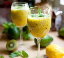 Odżywczy koktajl z kiwi, ananasa i pomarańczy: twoja zdrowa porcja owoców