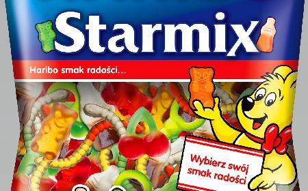 StarMix nowość od Haribo dla dużych i małych dzieci - wybierz swój smak radości!