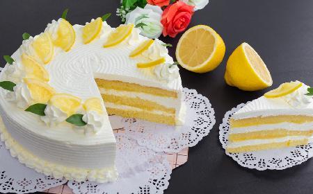 Cytrynowy tort