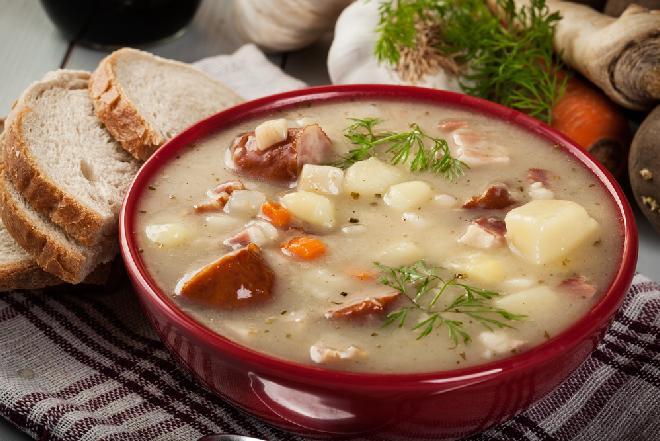 Wyrazista zupa ziemniaczano-chrzanowa czyli pomysł na kartoflankę inaczej