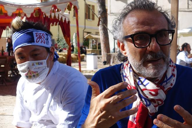 Massimo Bottura twórca sukcesu festiwalu kulinarnego Al Meni
