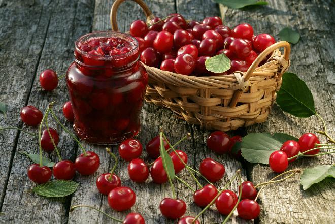Konfitura z wiśni: klasyczny przepis